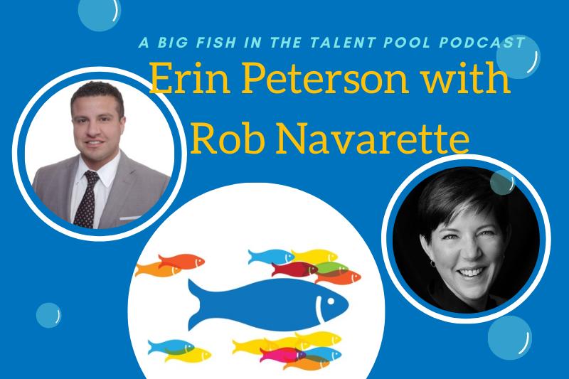 Erin Peterson with Rob Navarette