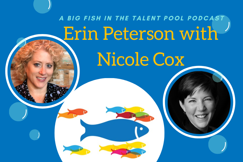 Erin peterson with Nicole Cox