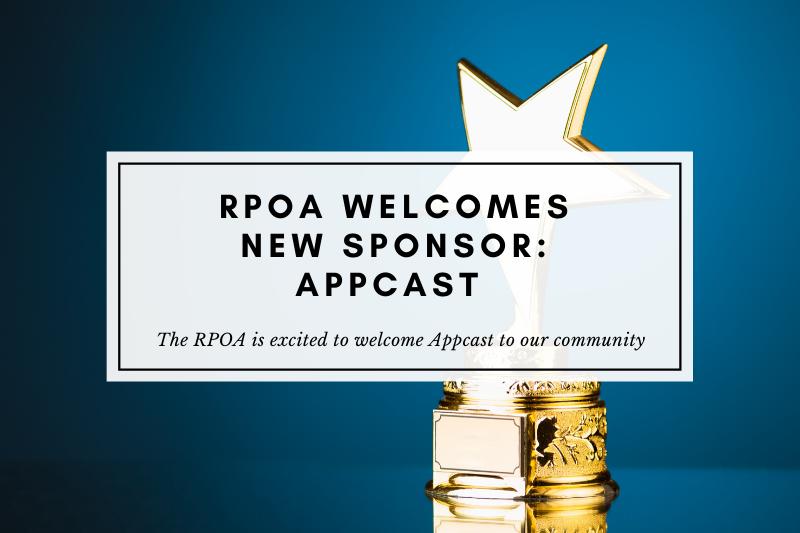 Appcast sponsors the RPOA