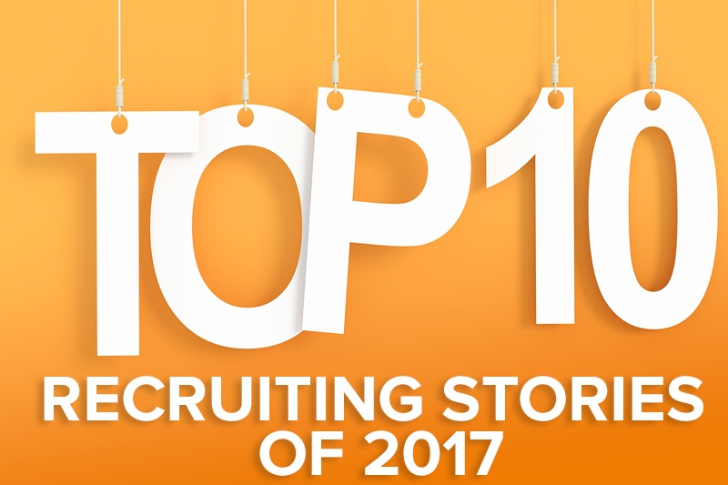 Top recruiting stories of 2017