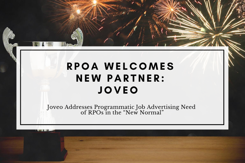 """The Recruitment Process Outsourcing (RPO) Association Partners with Joveo to Address Programmatic Job Advertising Need of RPOs in the """"New Normal"""""""