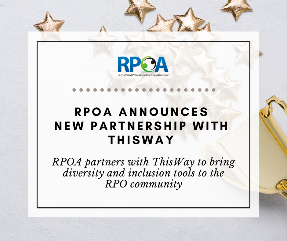 RPOA Partners with ThisWay to Bring Diversity and Inclusion Tools to the RPO Community