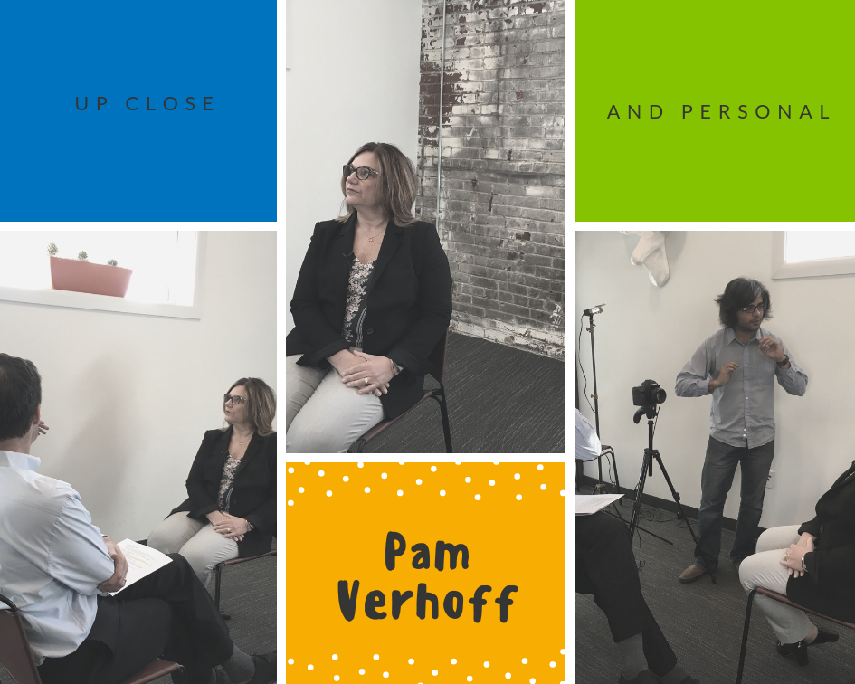 up close and personal with pam verhoff