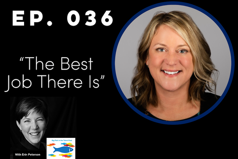 MaryAnn Pelland of Citizens Bank Speaks to Erin Peterson on Big Fish in the Talent Pool