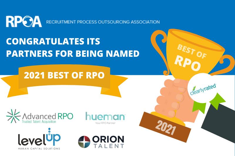 RPOA Announces 2021 Best of RPO Winners