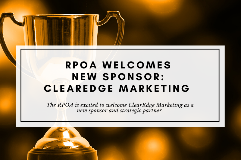The RPOA Welcomes ClearEdge Marketing and Michelle Krier