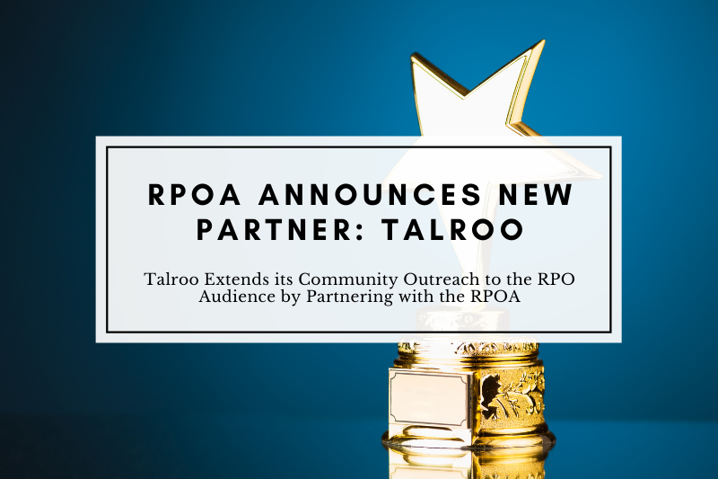 Talroo Extends its Community Outreach to the RPO Audience by Partnering with the RPOA