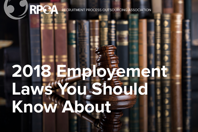 2018 Employment Laws You Should Know About
