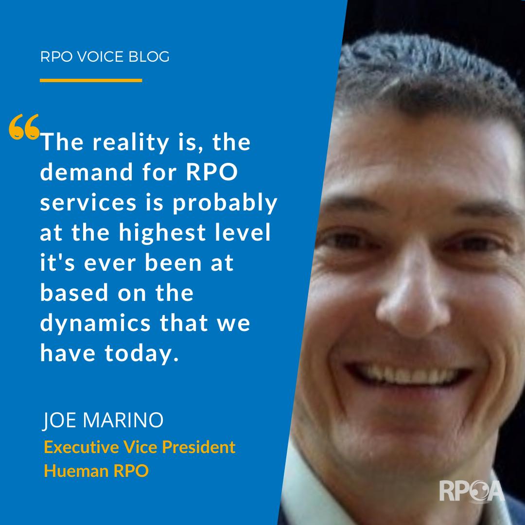 Joe Marino of Hueman RPO Demystifies Recent Changes in Talent Acquisition