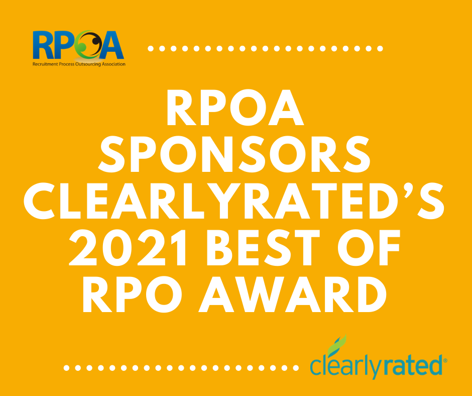 RPOA Sponsors ClearlyRated's 2021 Best of RPO Award